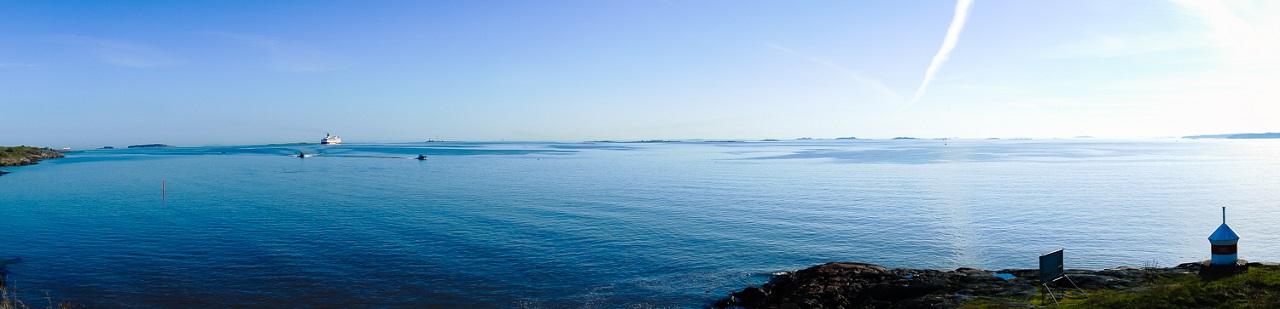 Панорама с острова Свеаборга Пикку-Мустасаари