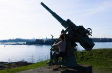 Оборонительный комплекс Свеаборг на островах Хельсинки