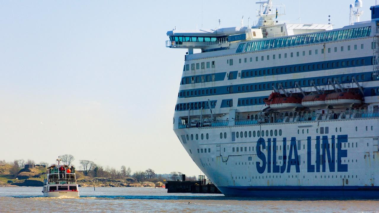Круизный лайнер Silja Line
