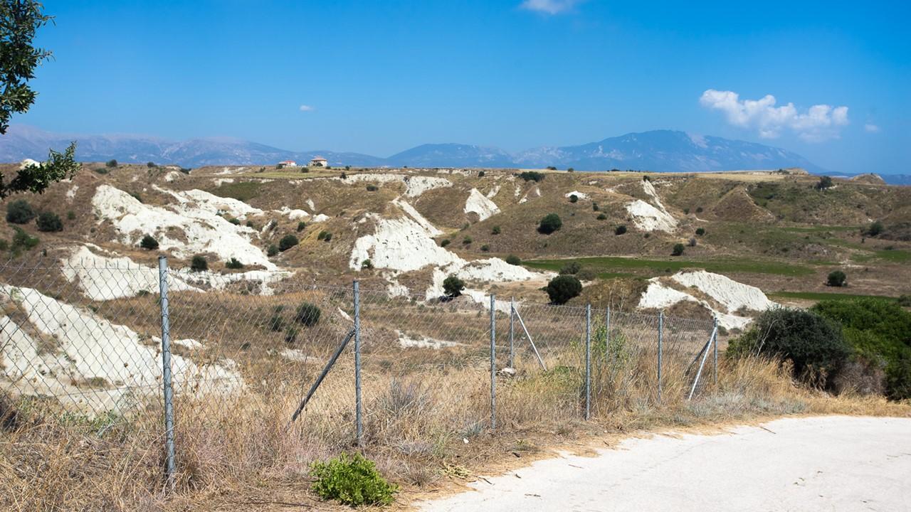 Глинистые горы Кефалонии