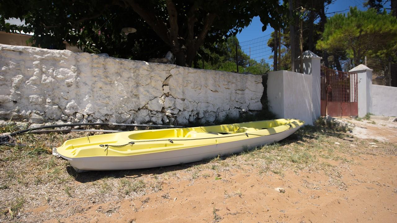 Каяк на пляже Лепеда (Lepeda)