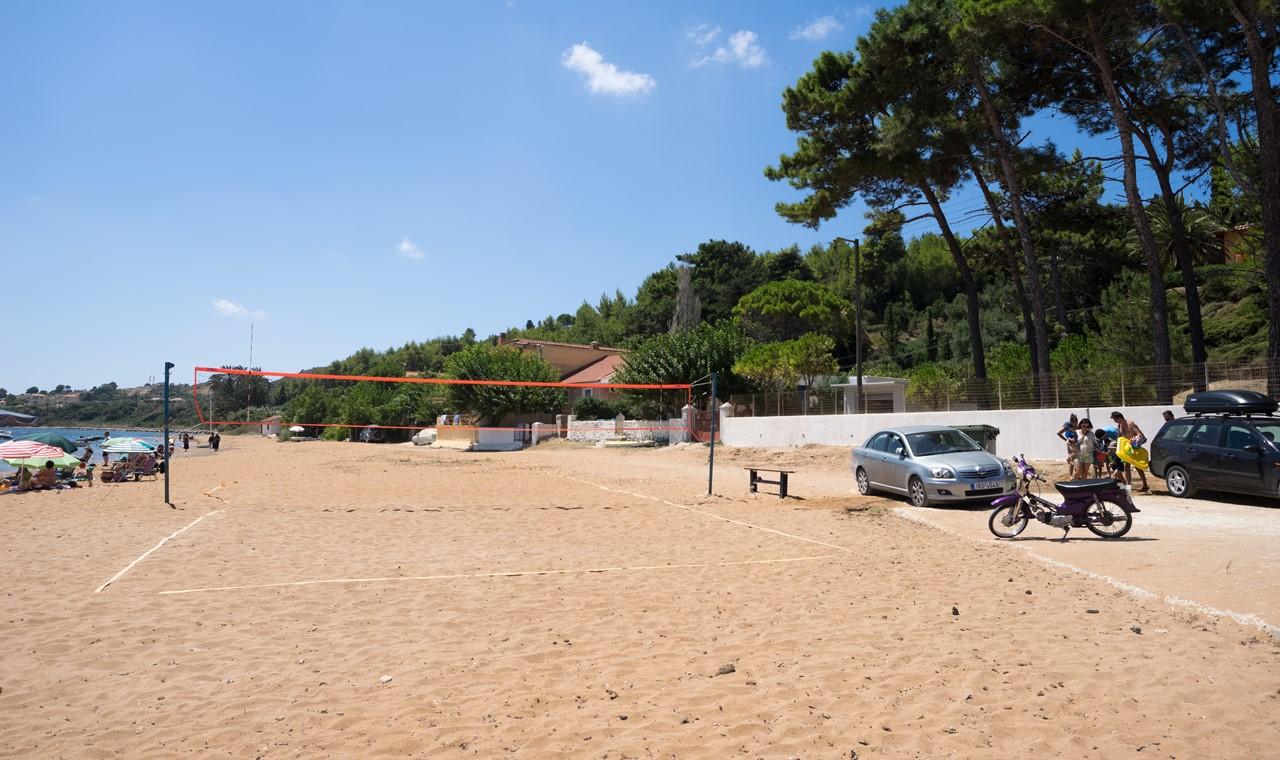 Спортивная зона на пляже Лепеда (Lepeda)