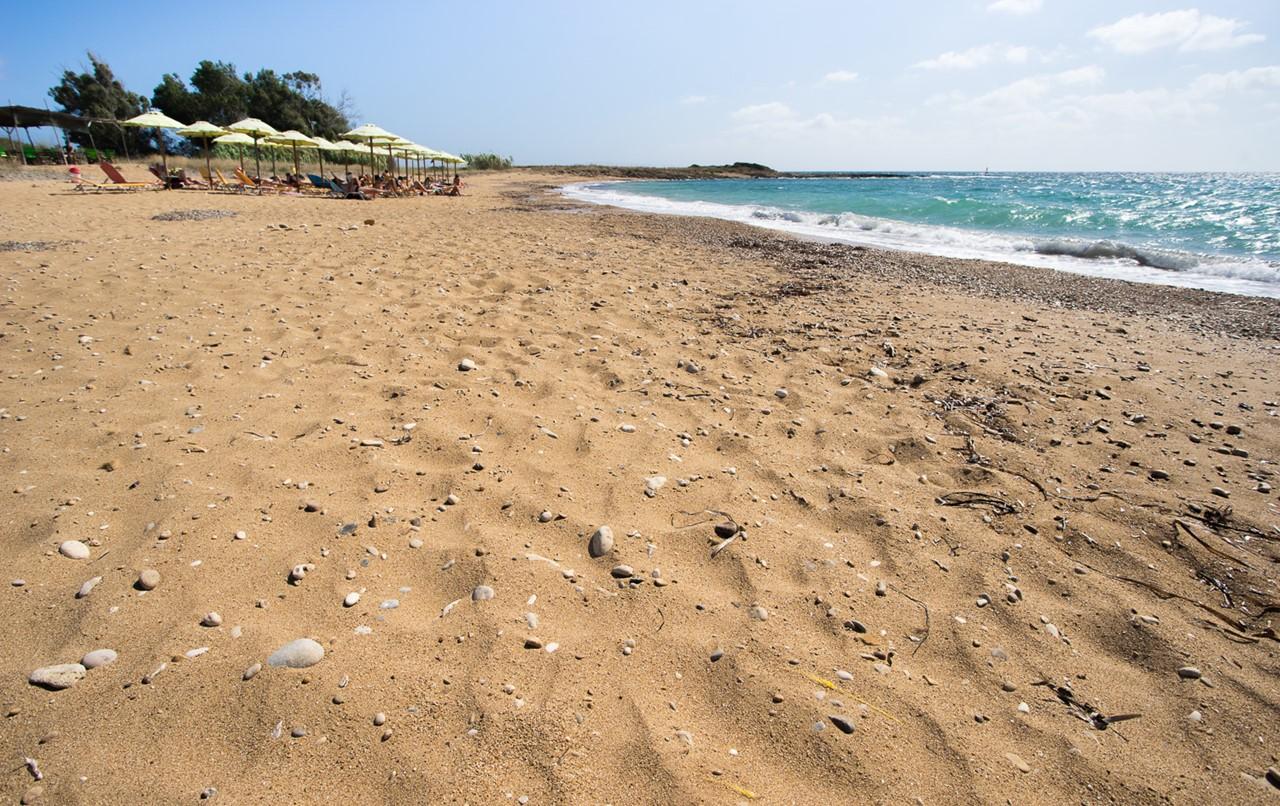 Пляж Врахинари (Vrahinari) на Кефалонии
