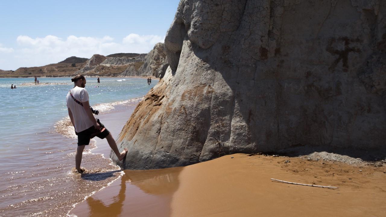Исследование глины пляжа Кси (Xi)