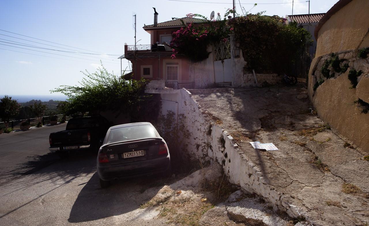 Припарковался в Хавриата (Chavriata)