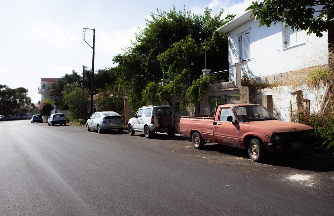 Парковка у обочины в Хавриата (Chavriata)