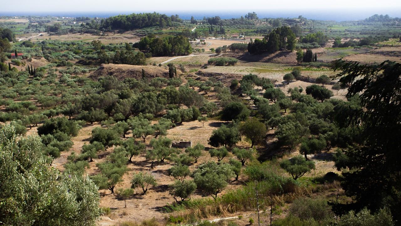 Панорамный вид в деревне Хавриата (Chavriata)