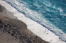 Величественный пляж Миртос на Кефалонии