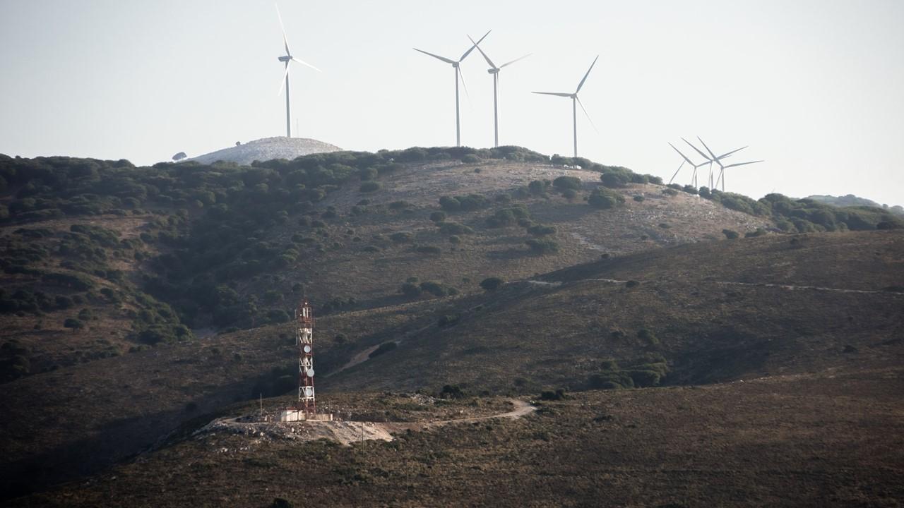 Ветряки на Кефалонии