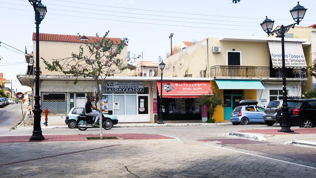 Фотосалон на главной улице Ликсури - Красопетера