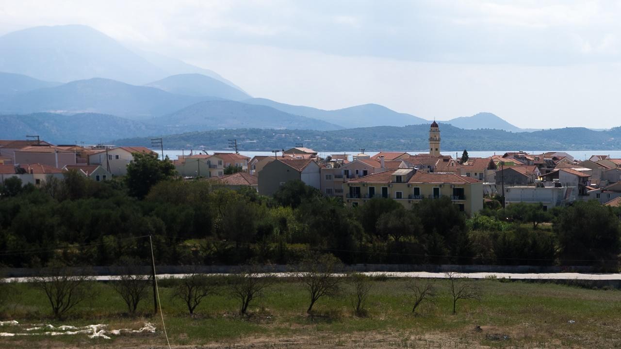 Вид из аппартаментов Aspasia Studios