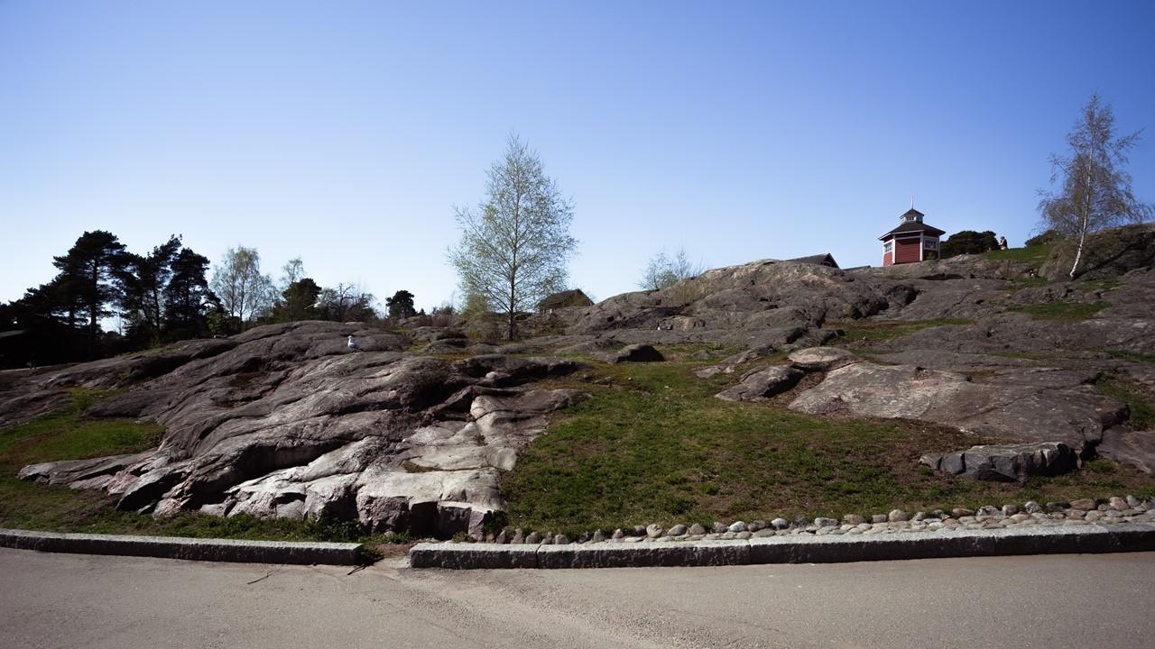 Ландшафт зоопарка Хельсинки - Коркеасаари (Korkeasaari)