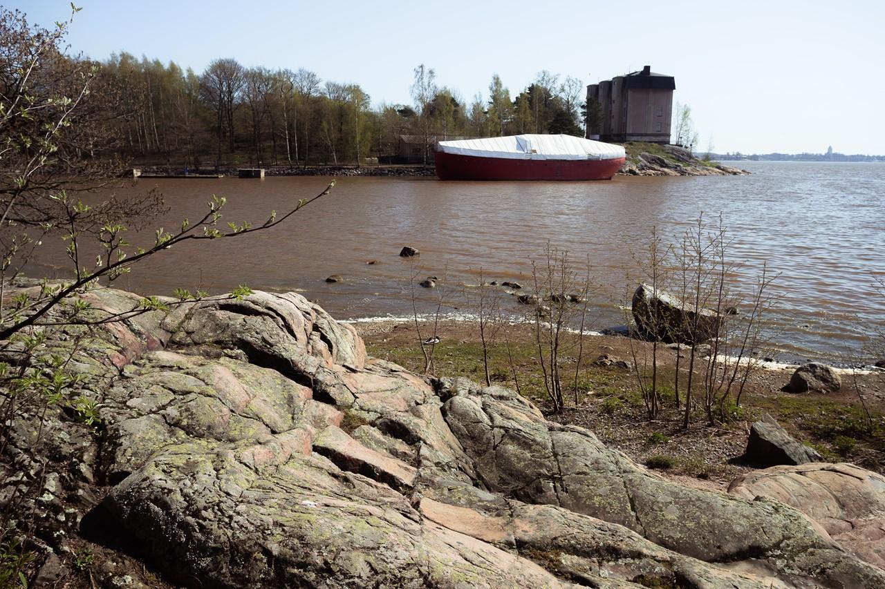 Набережная острова-зоопарка Хельсинки
