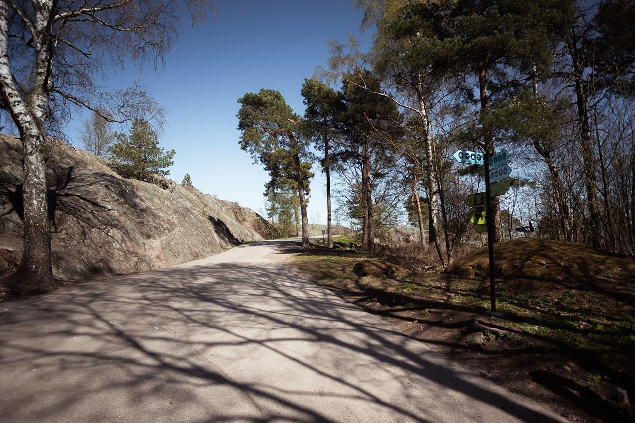 Дорожки в зоопарке Хельсинки