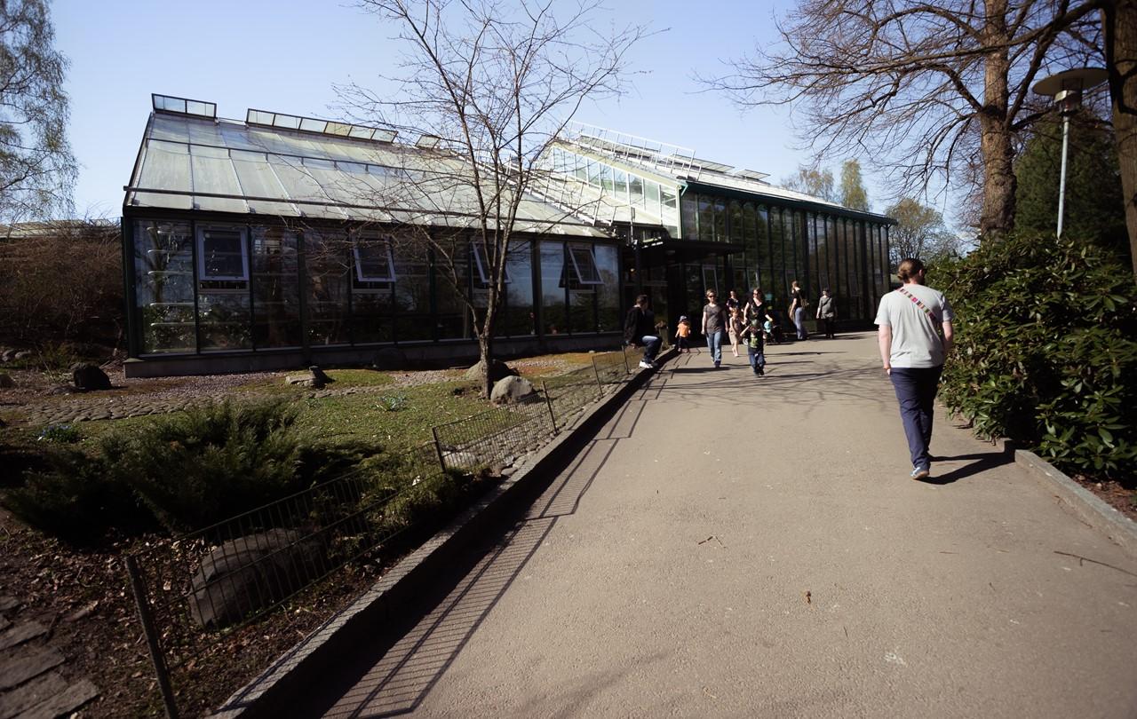 Экзотариум-оранжерея зоопарка Хельсинки