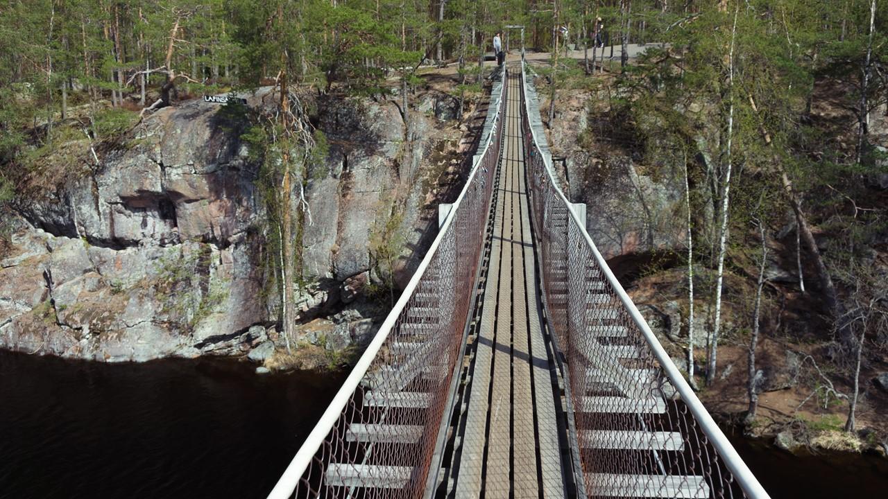 Качающийся мост Реповеси