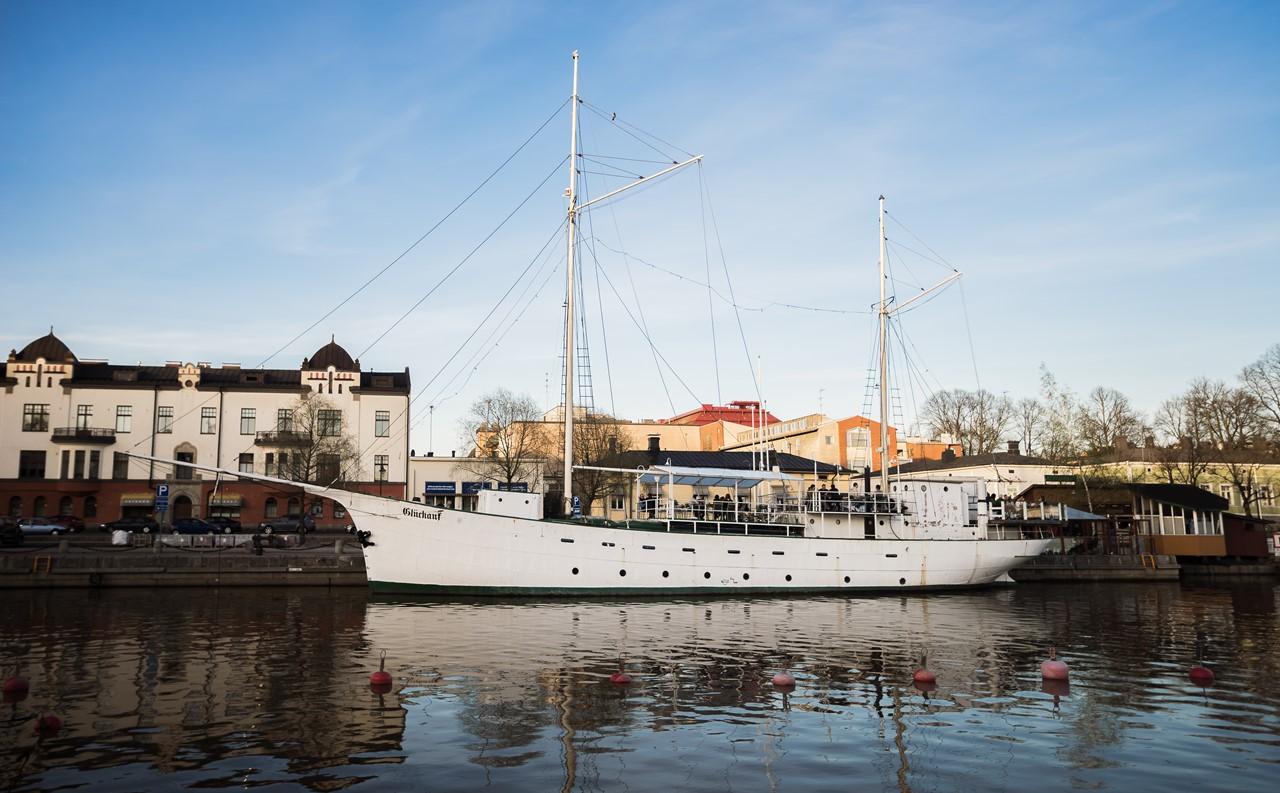 Корабль в Порвоо