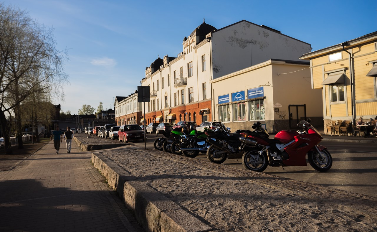 Стоянка мотоциклов