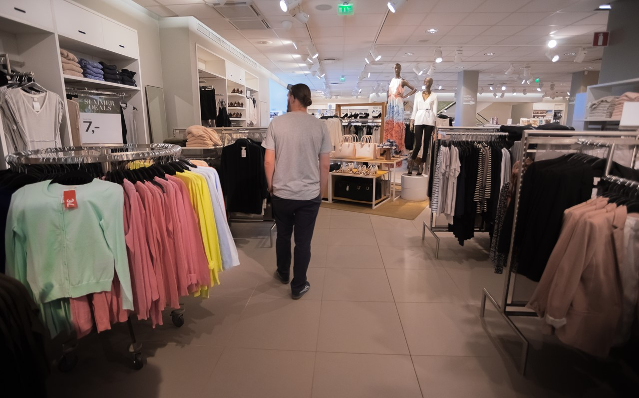 Магазин H&M в Порвоо