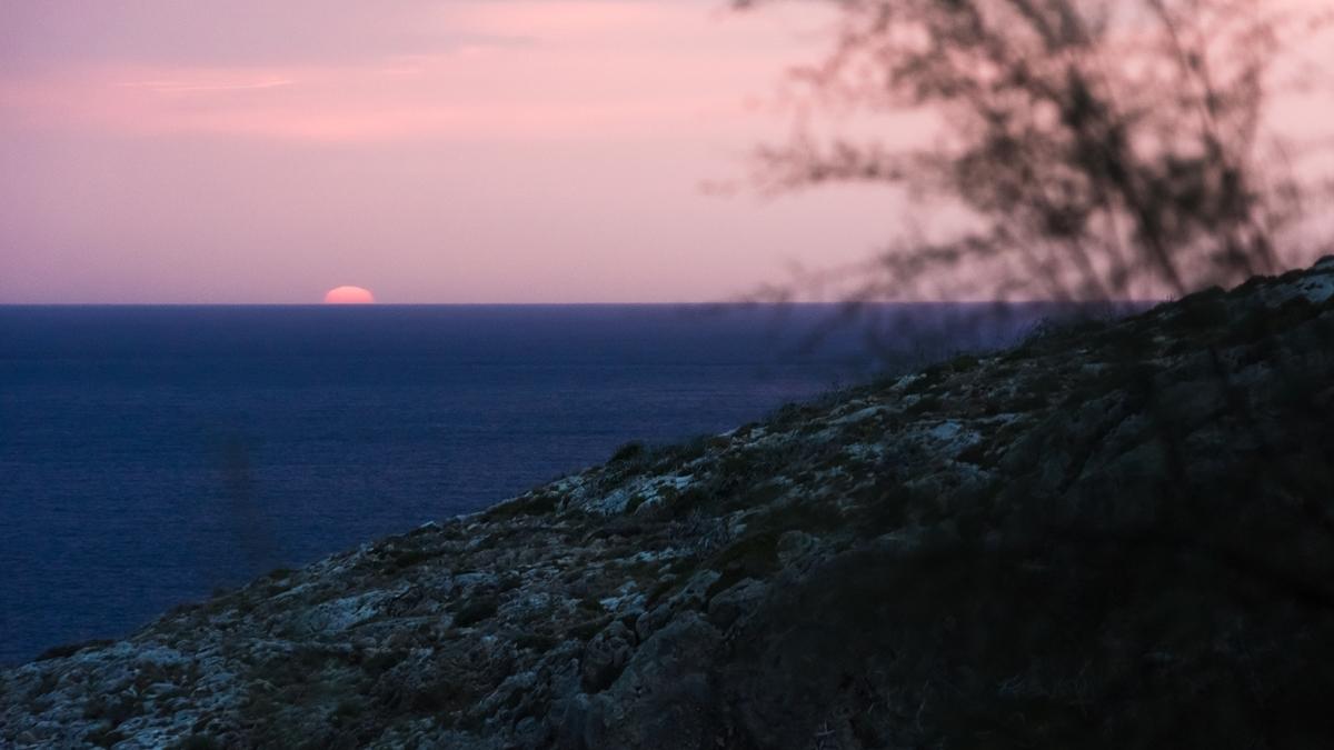 Закат на острове Закинф