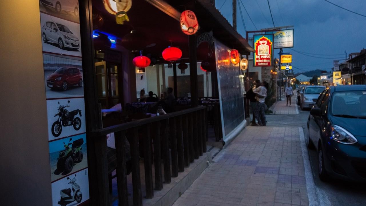 Китайско-индийский ресторан в Аликесе