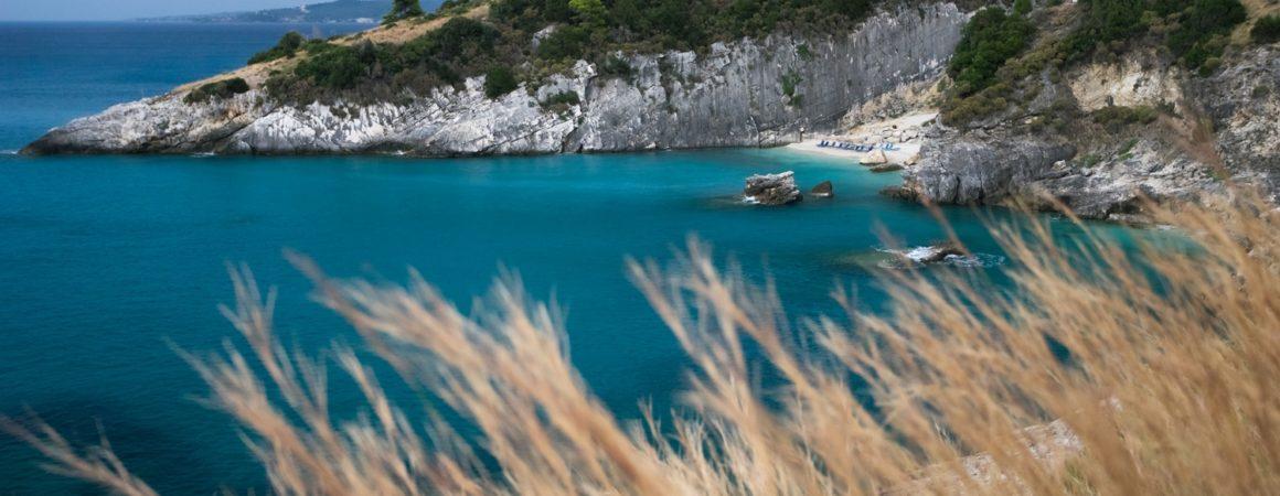 Makris Gialos beach on Zante, GREECE