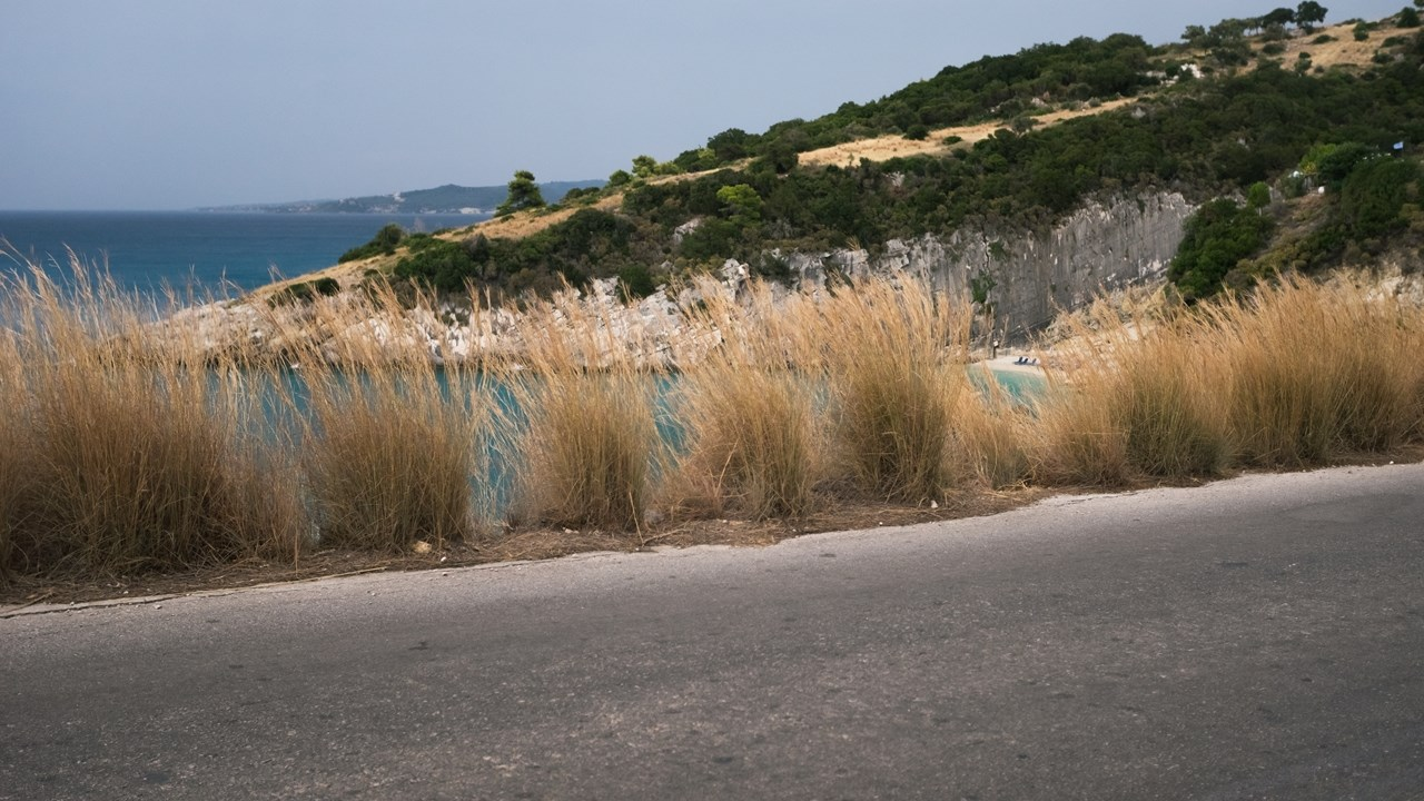 По дороге к пляжу Макрис Гиалос (Macris Gialos)