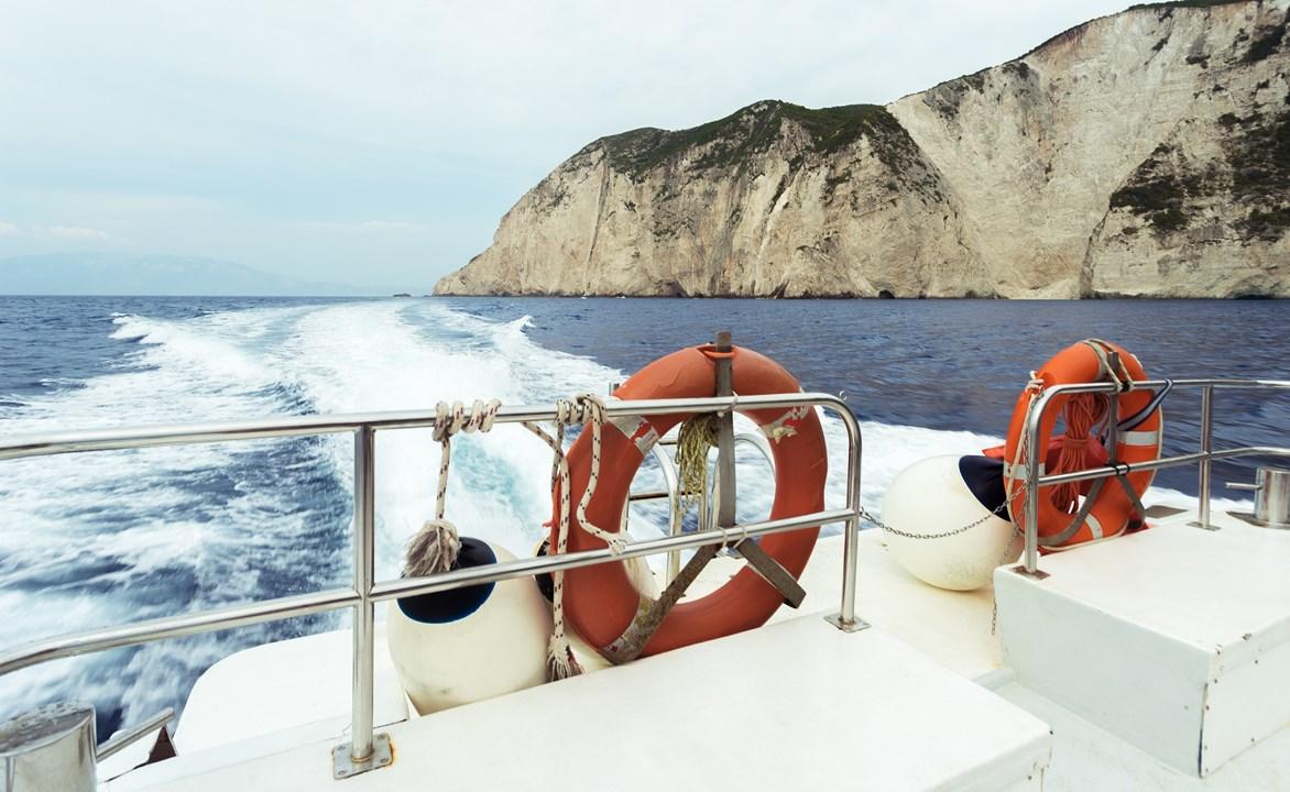 Спасательные круги на нашей лодке