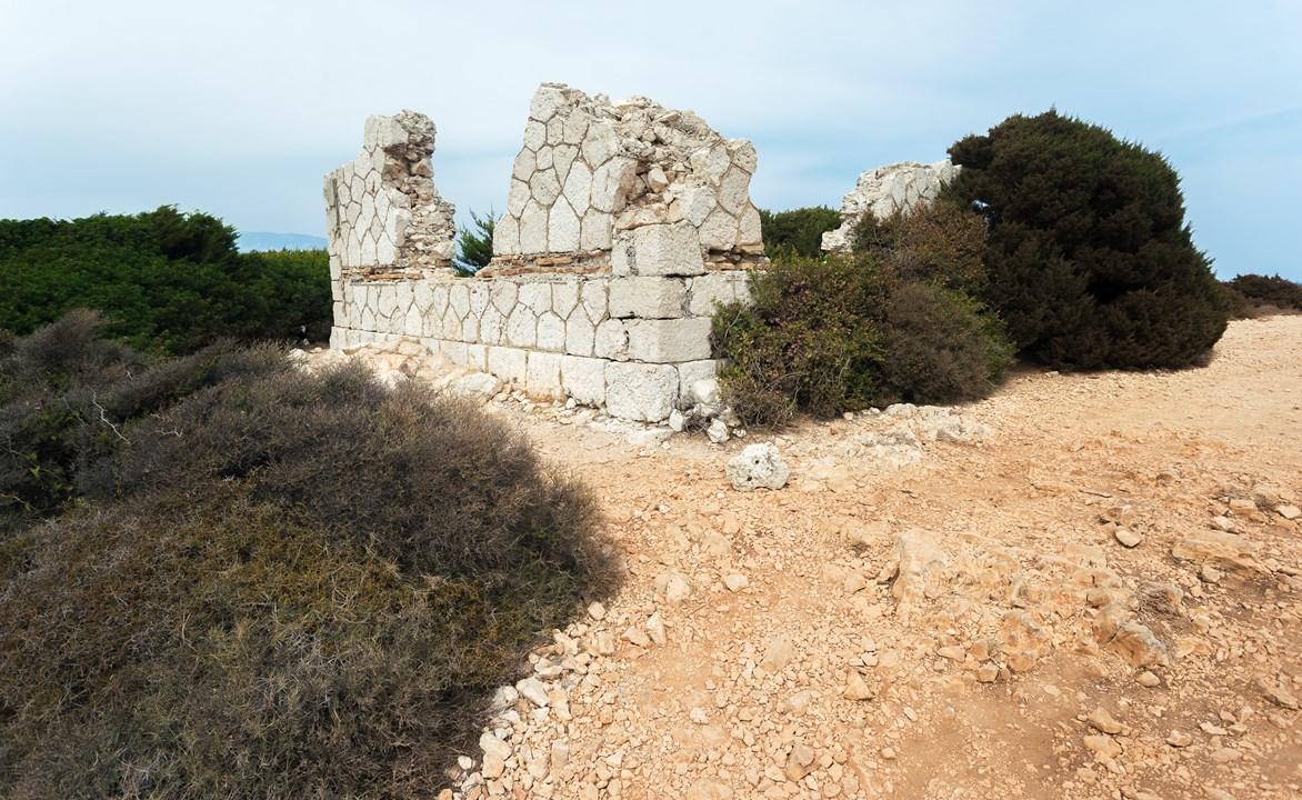 Руины греческого домика