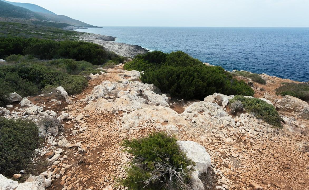 На смотровой Zakynthos Nord Cap