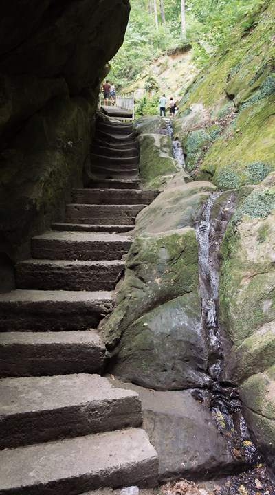 Лестница по Дантовому ущелью