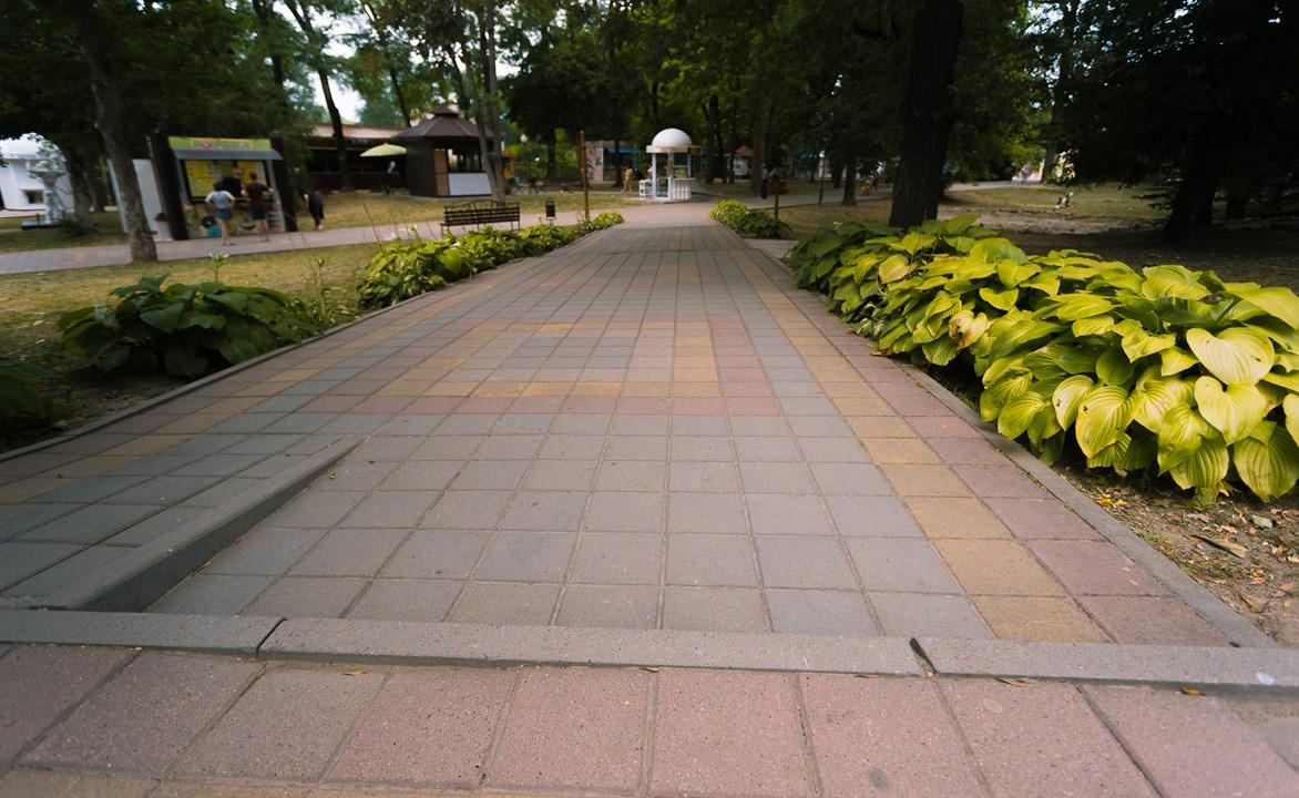 Дорожки в Целебном парке