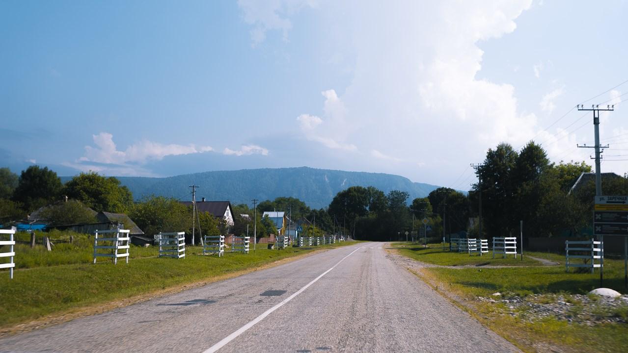 По дороге видим хребет Гуама