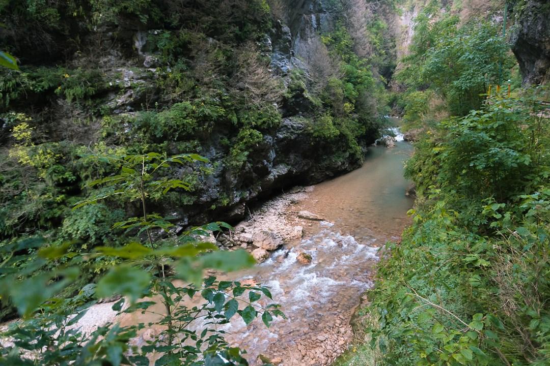 Река Курджипс с порогами