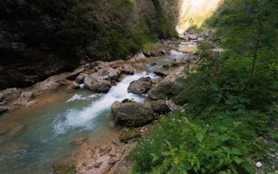 Красота и опасность Гуамского ущелья