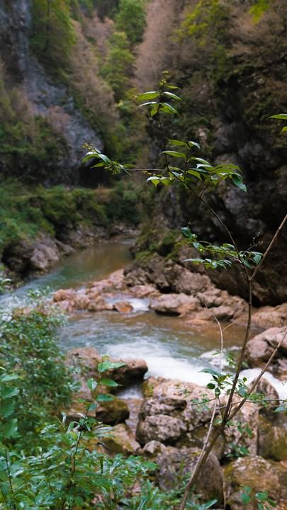 Горизонтальный вид Гуамского ущелья