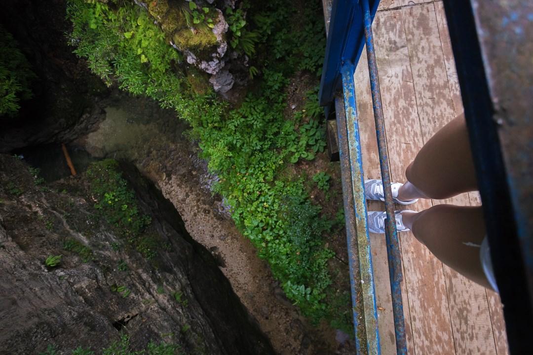 Вид с моста на реку Сухая Балка