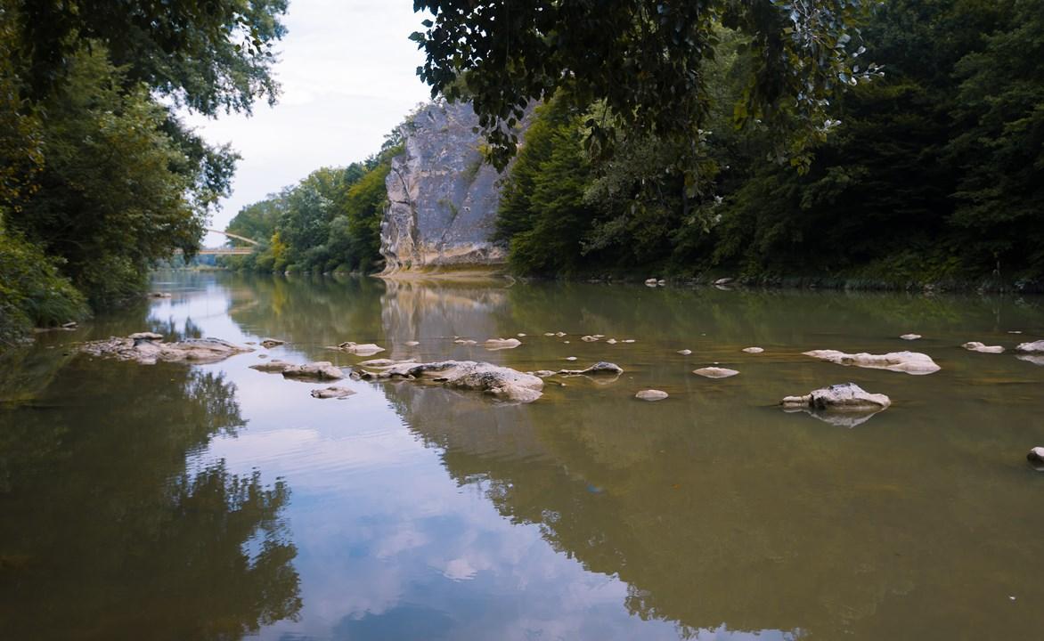 """Река Псекупс с адыгского значит """"голубая вода"""""""
