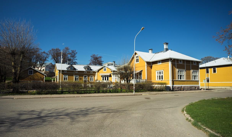 Желтый квартал в Ханко