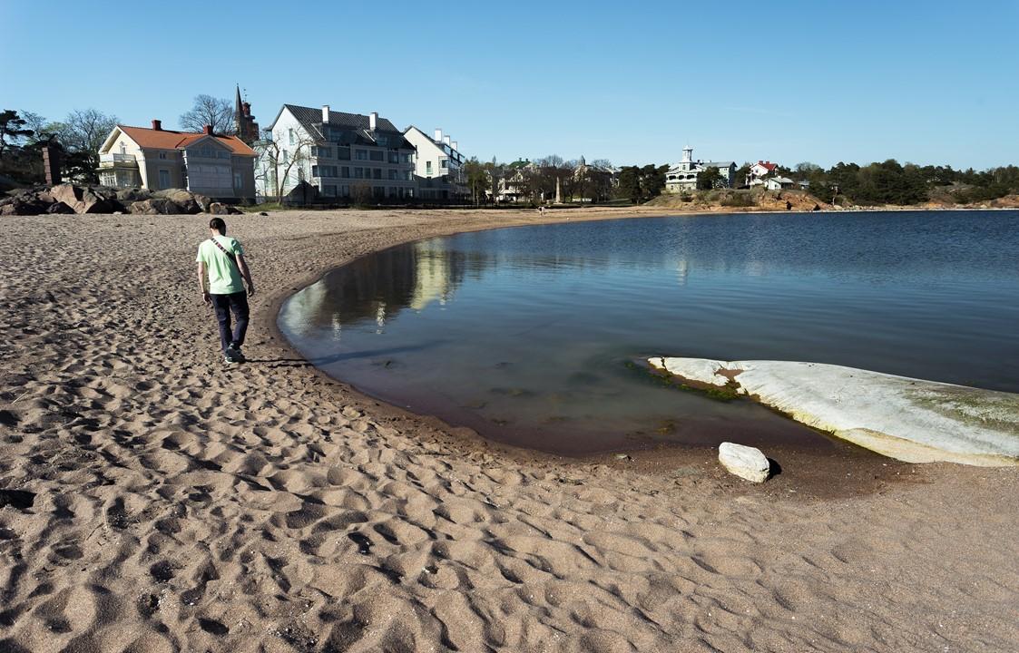 Ханко состоит из 130 километров береговой линии, 30 км. из которых состоят из пляжей с мелким песком