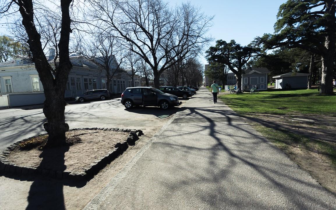 Улицы города Ханко в Финляндии