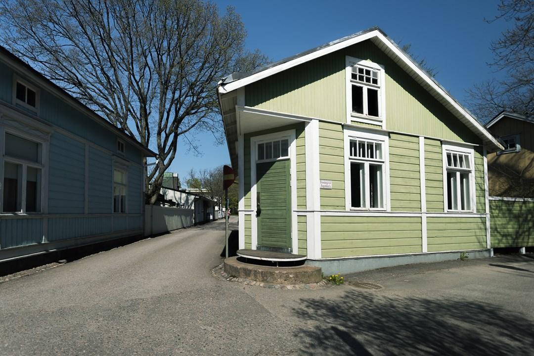 Необычные дома в Расеборге