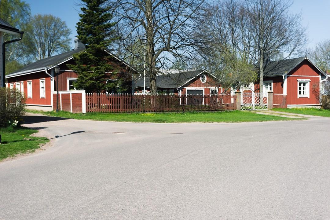 Три финских домика в Расеборге