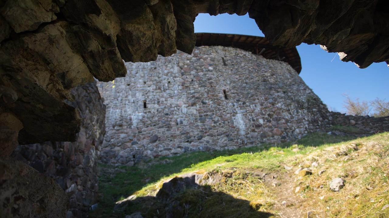 Руины Расеборгского замка