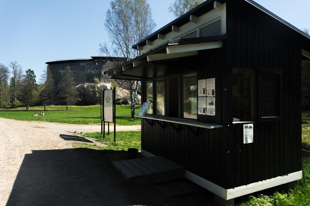 Касса для продажи билетов и заказа экскурсий в Расеборгский замок