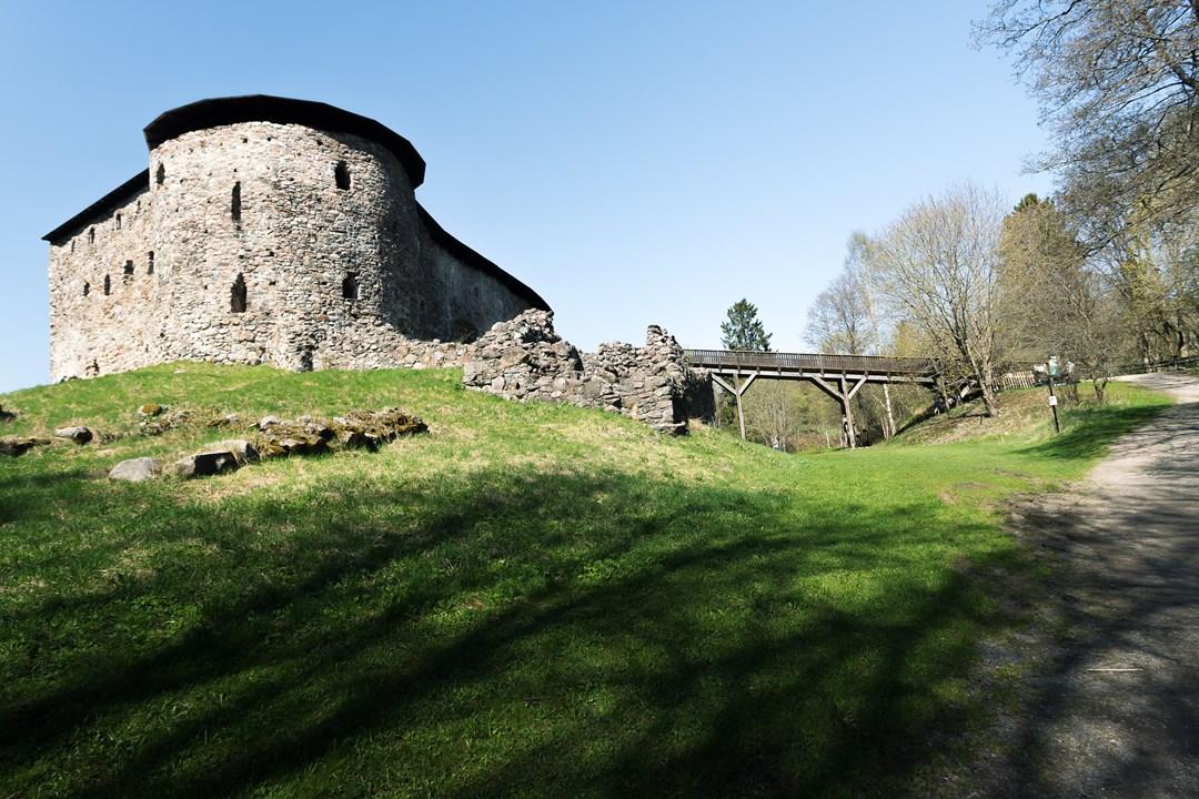 Радует то, что с 1550 года здесь ничего не было застроено или переделано