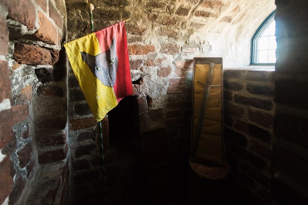 Рыцарский уголок Асбокого замка