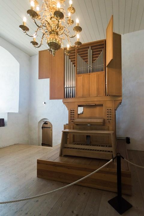 Мини-орган часовне Абоского замка