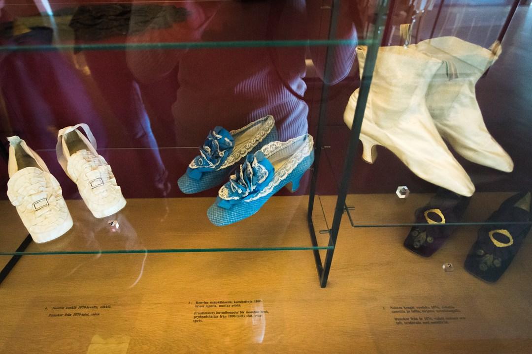 Туфли необычной формы