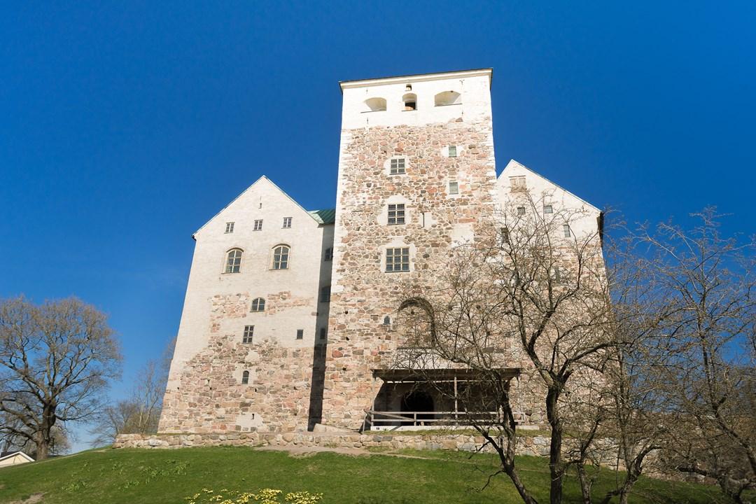 С 1556 года правления короля Йохана залы замка Турку строились в стиле ренессанса